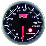 AUTOGAUGE 52 MM ELECTRICA SMOKE